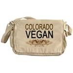 Colorado Vegan Messenger Bag