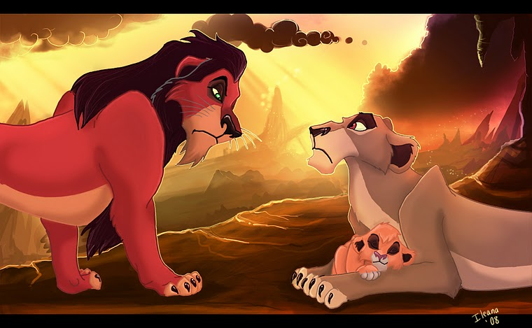 Image result for zira and scar