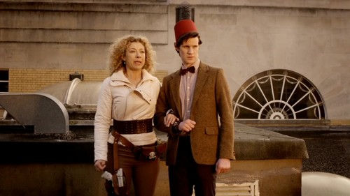 Doctor/River - 5x13 - The Big Bang - the-doctor-and-river-song Screencap