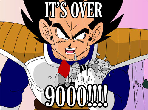 What?! 9000? There's no way that could be right!