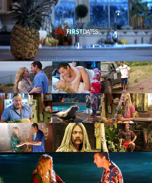 Image result for 50 first dates collage images