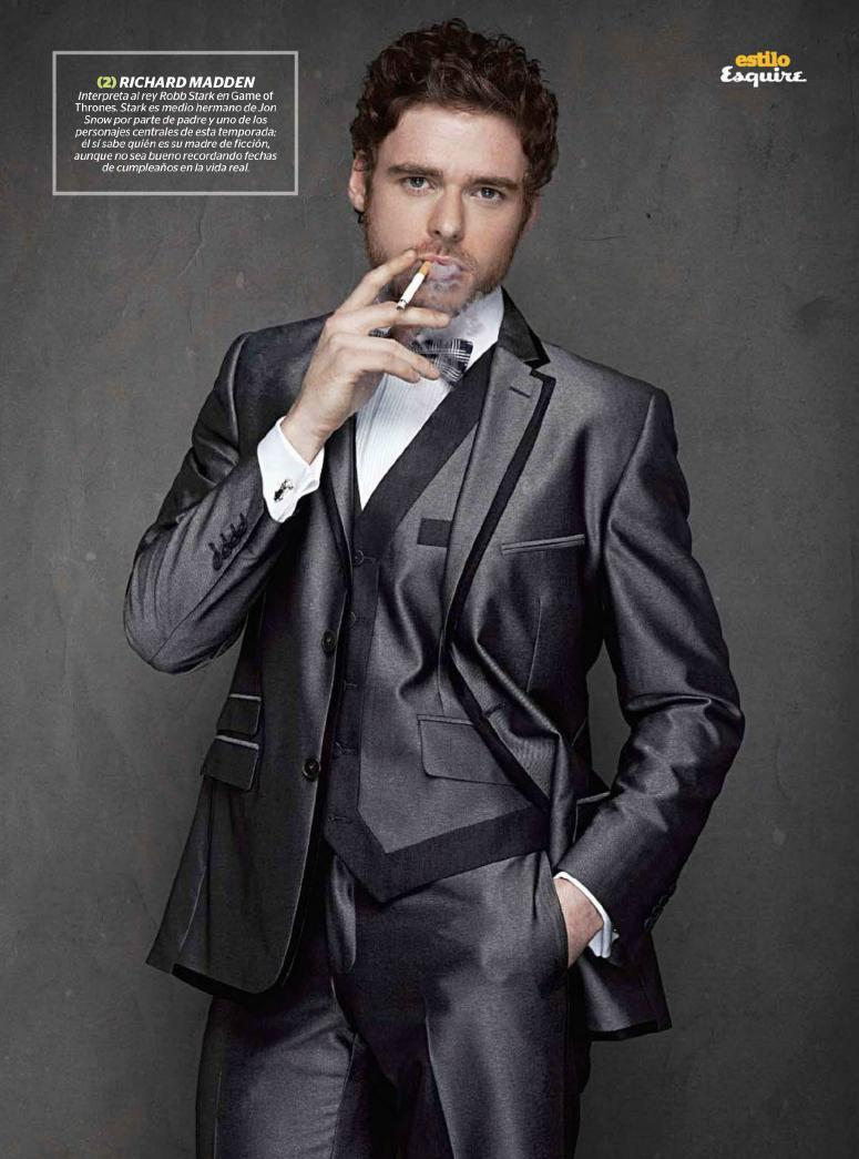 Richard Madden- Esquire México, May '12 - Game of Thrones ...