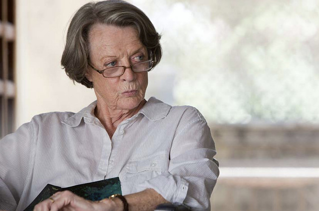 Image result for picture best exotic marigold maggie smith