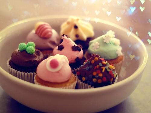 Cupcakes  - food Wallpaper