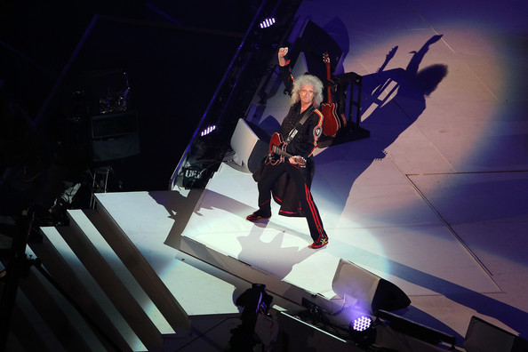 The Closing Ceremony & Picnic of 2012 Olympics - Brian May