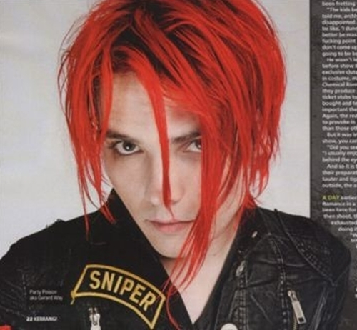 Which Hairstyles Looks Hotter On Gerard Way Poll Results