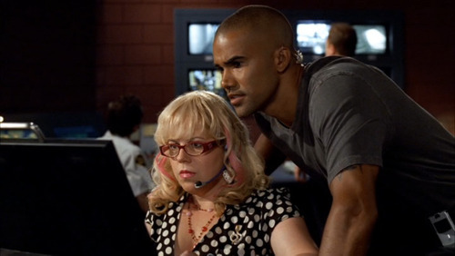 Garcia & Morgan (Criminal Minds)