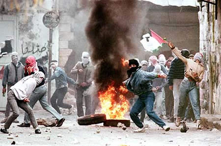 Palestinian intifada on Israel