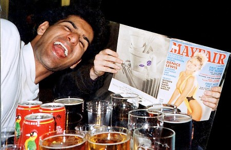 Young Choudary with booze, porn