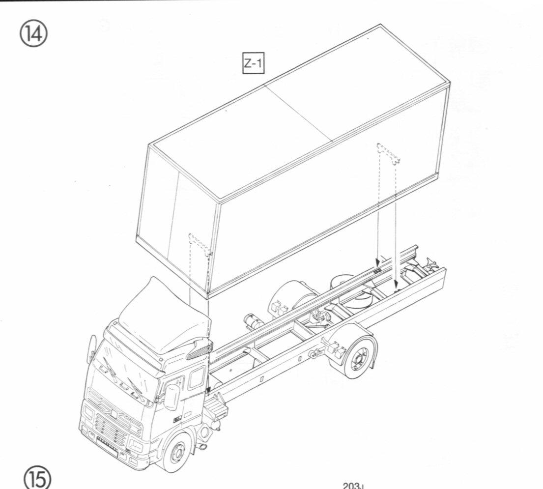 Volvo Fh12 Rigid Truck Edstobart Italeri 1 24