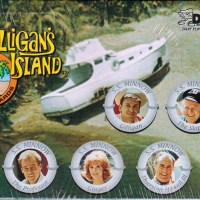 The cast of 'Gilligan's Island' (1964-7).