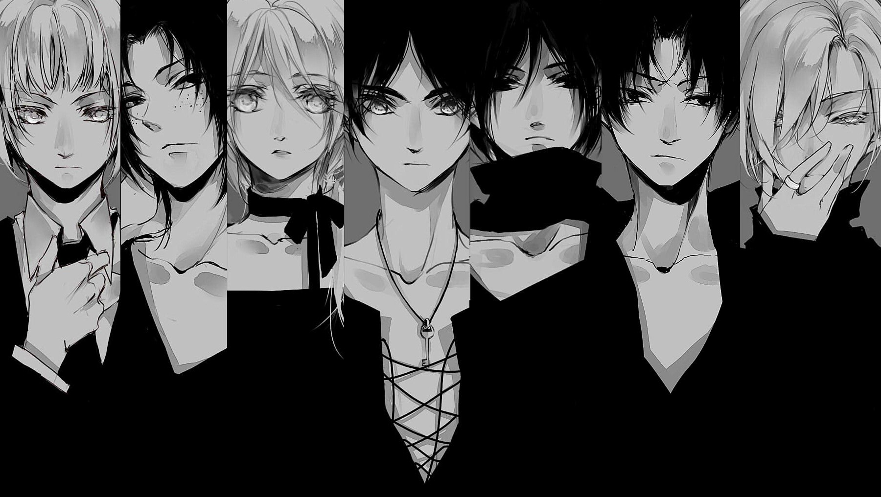 Aot wallpaper,black,water,black and white,monochrome,photography · resolution: Attack On Titan Wallpaper and Background Image | 1800x1016