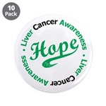 "Liver Cancer Hope 3.5"" Button (10 pack)"