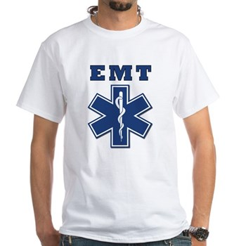 EMT White T-Shirt
