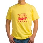JAPAN RELIEF 2011 Yellow T-Shirt