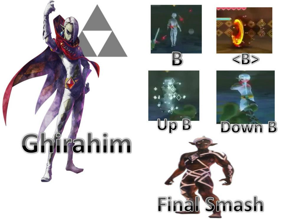 Super Smash Bros 4 Images Ghirahim Possible Moveset HD