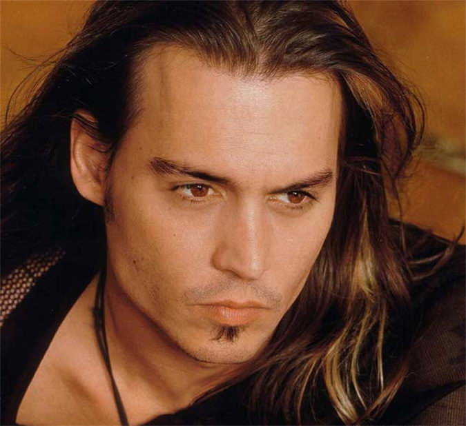 Johnny Depp Images Johnny With Long Hair Wallpaper