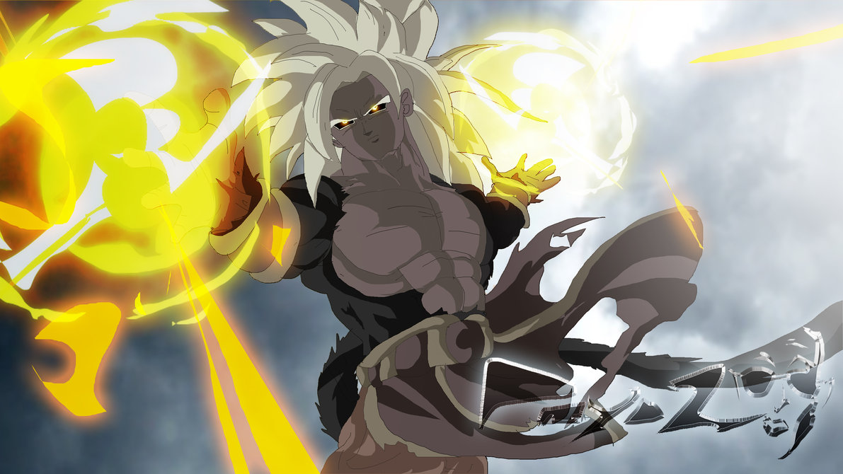 Goku Super Saiyan 5 Uncontrolled Dragon Ball Z Photo 33046618 Fanpop