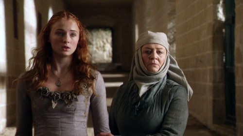 Sansa robe lila