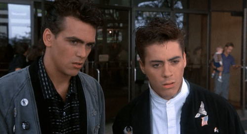 Image result for robert downey jr weird science