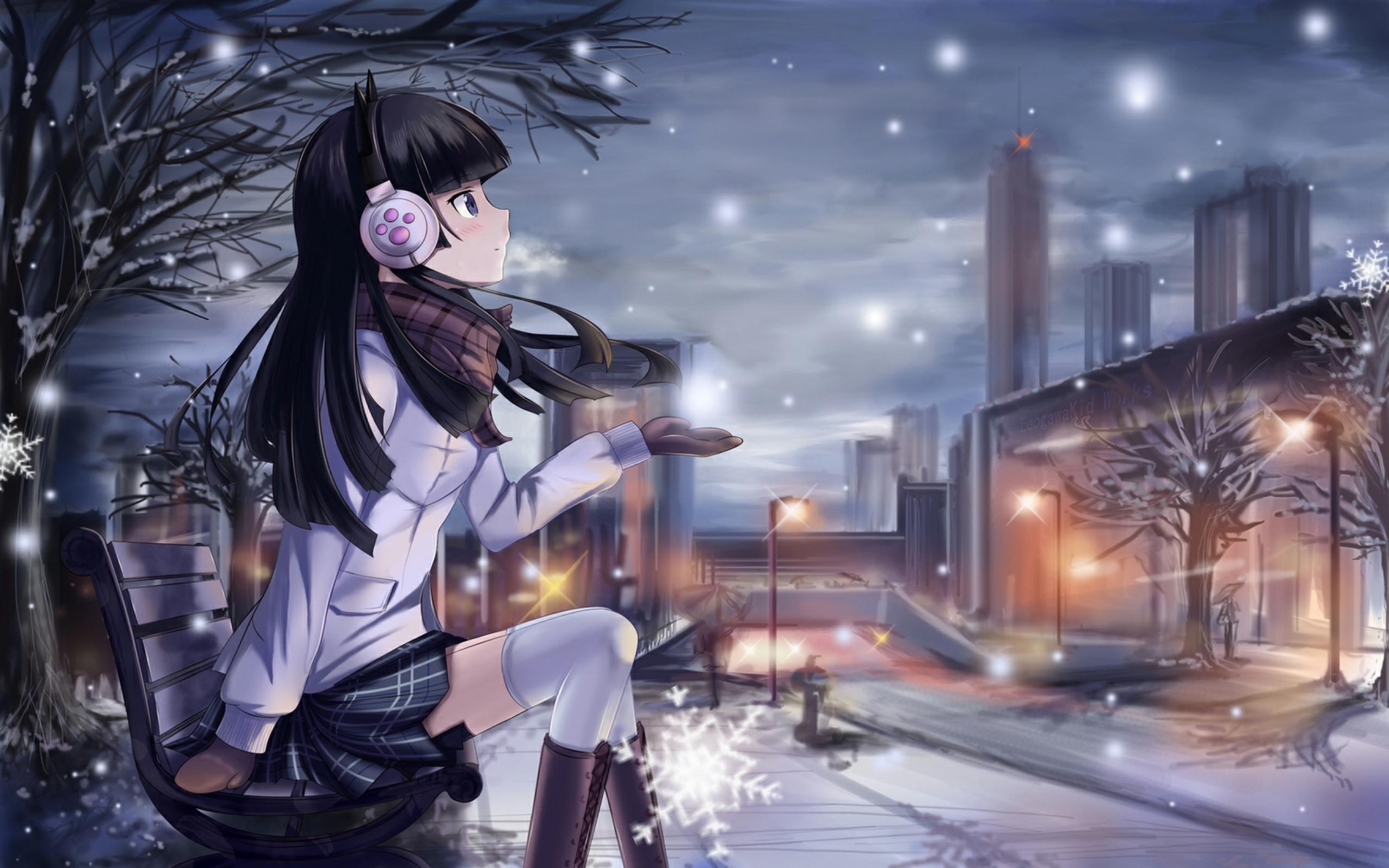 Beautiful girl  ‿   Kawaii Anime Wallpaper 34625055