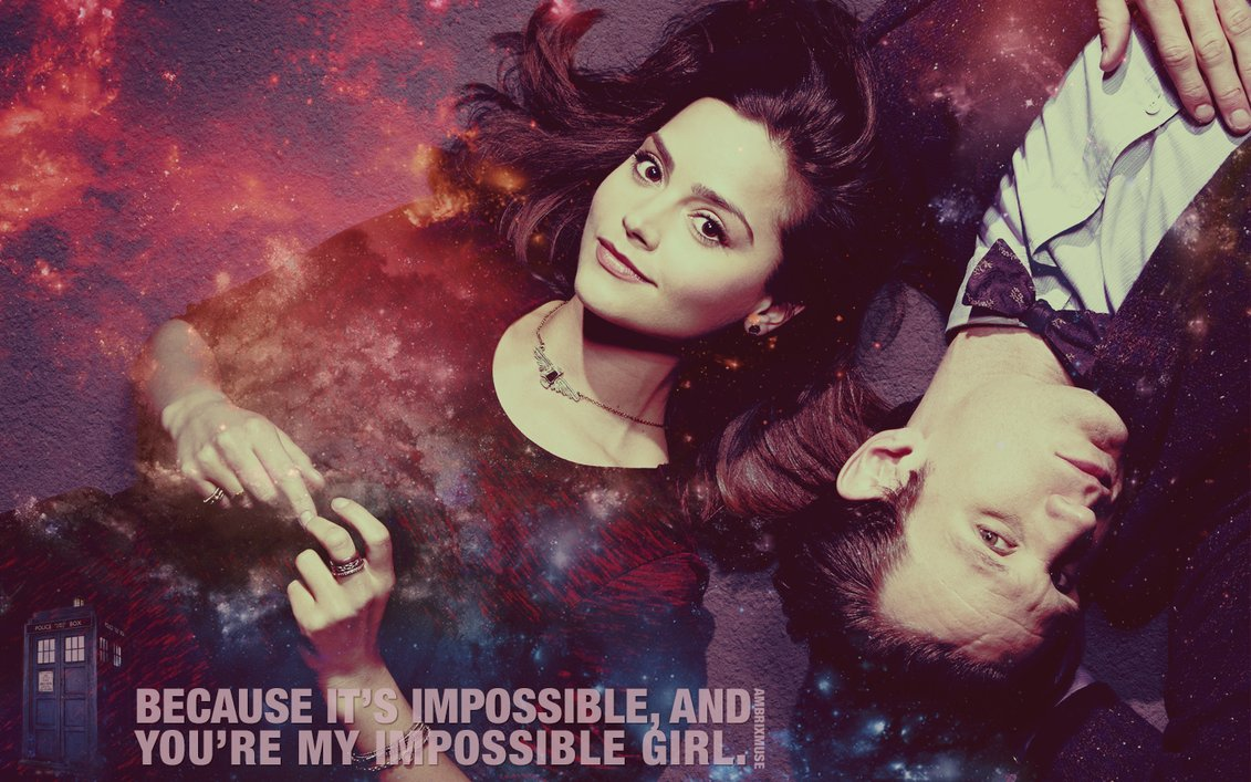 Image result for clara oswald impossible girl