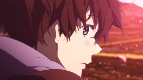 Image result for oreki houtarou smile