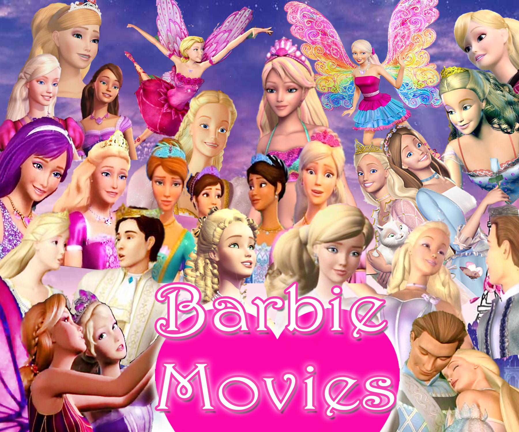The Barbie Movies Barbie Movies Fan Art 35230275 Fanpop