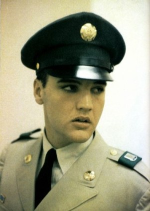 Image result for elvis in the us army