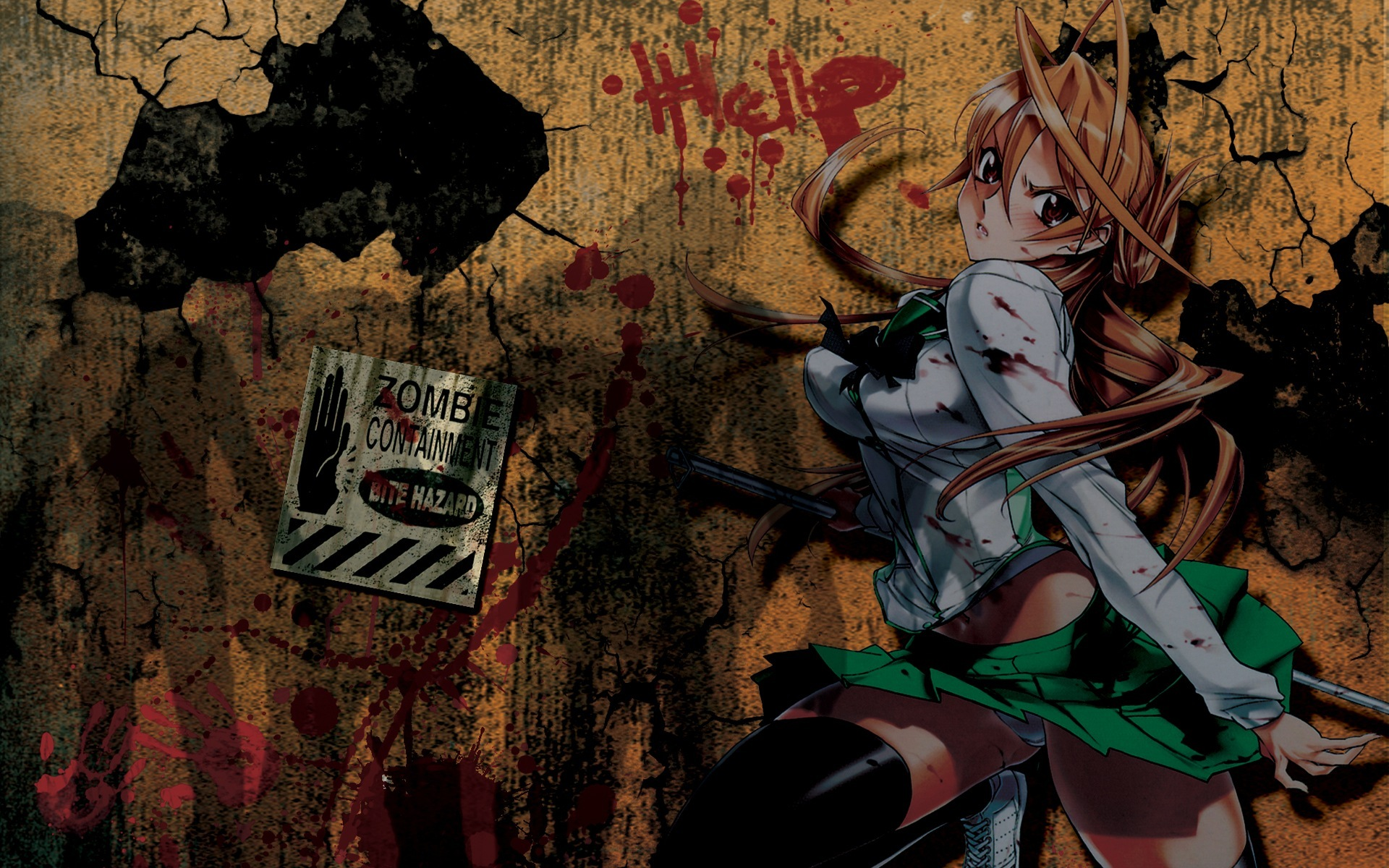 A lovingly curated selection of 90 free hd highschool of the dead wallpapers and background images. HOTD☠ - Highschool of the Dead Wallpaper (35580935) - Fanpop