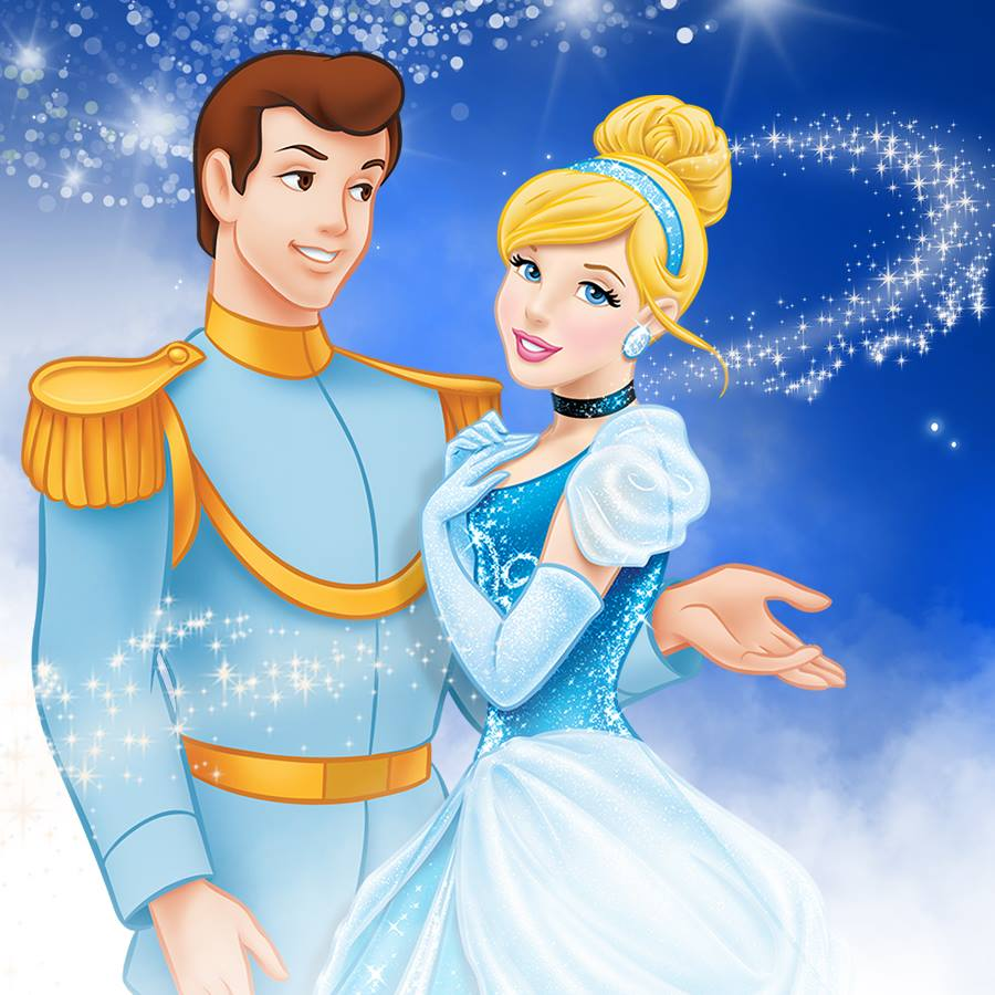 Image result for cinderella and prince charming