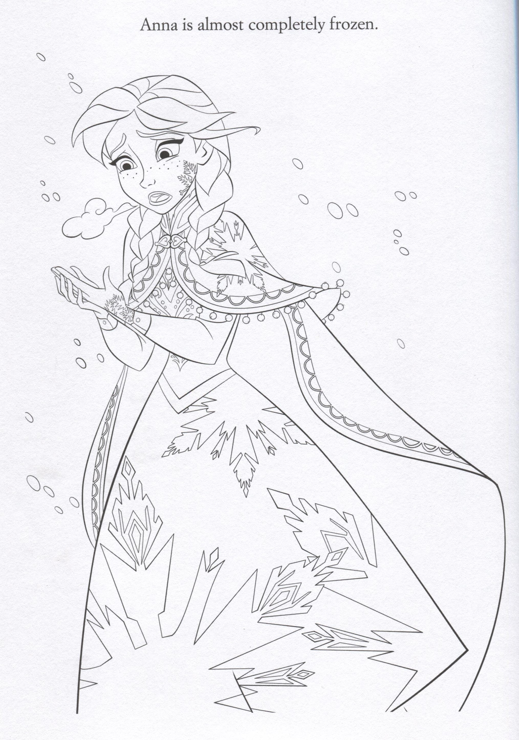 Coloring Square D Of Numbers In Frozen Coloring Pages