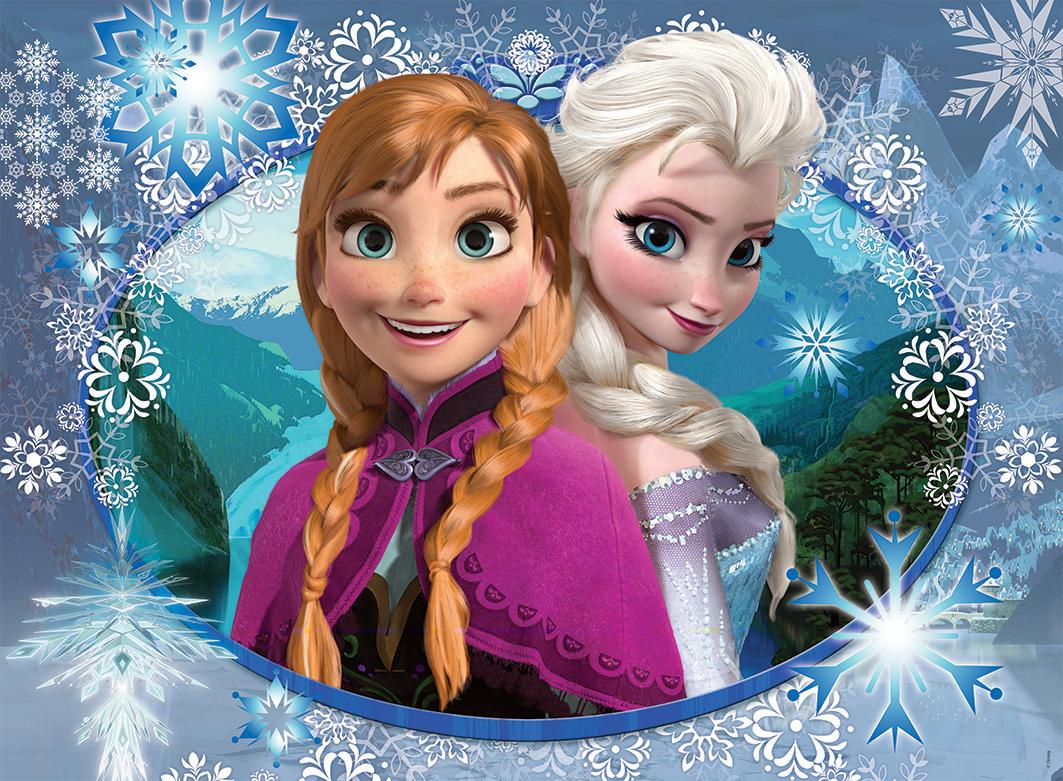 Elsa And Anna Have Fun Fotografia 36377562 Fanpop