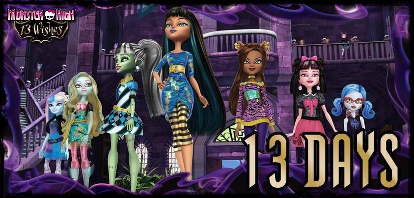 Promo To 13 Wishes Monster High 13 Wishes Photo 36410590 Fanpop