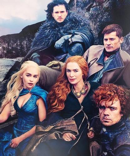 Image result for jon,daenerys,tyrion,jaime,cersei