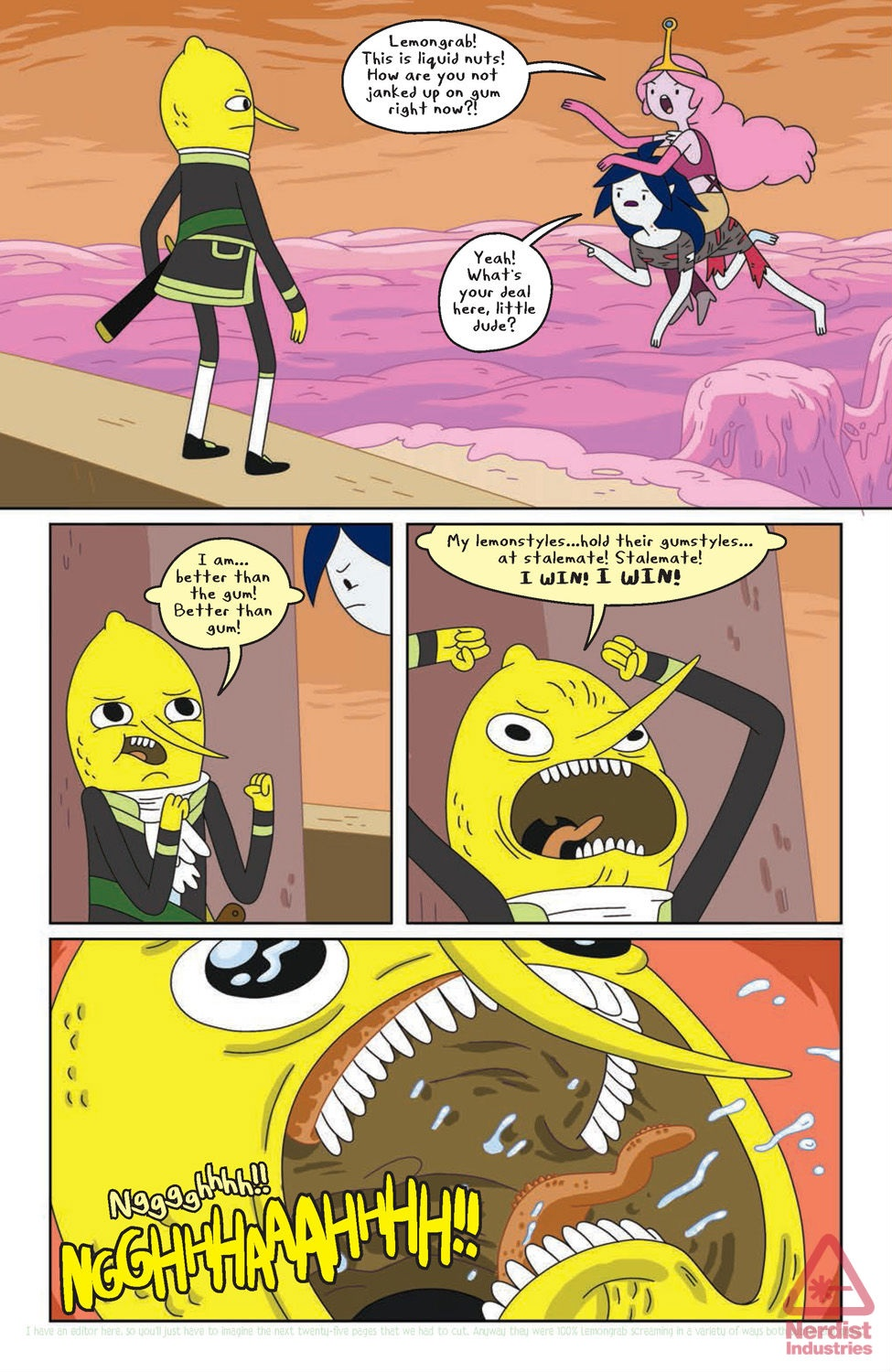 At Issue 24 Pt 1 The Earl Of Lemongrab Photo 37002779