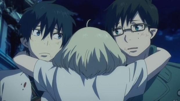 Blue Exorcist anime review  season 1 endings