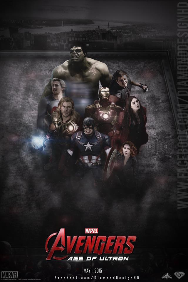 Avengers: Age of Ultron (FAN MADE) Poster - Ultron Fan Art (37566344) - Fanpop