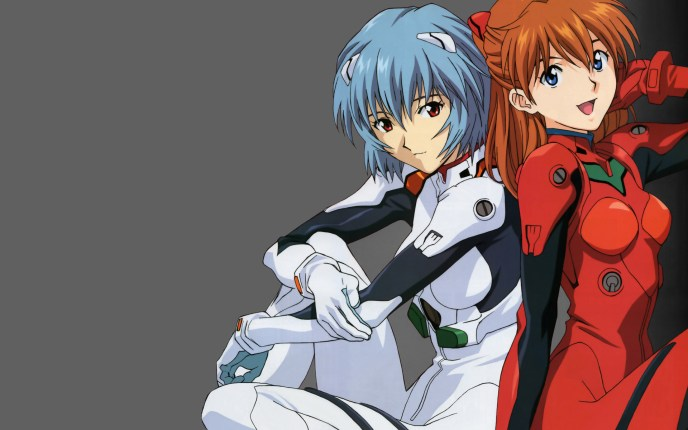 Image result for rei and asuka