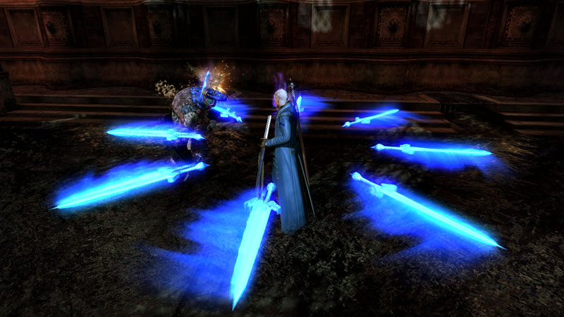 Image result for devil may cry vergil 3 summon swords
