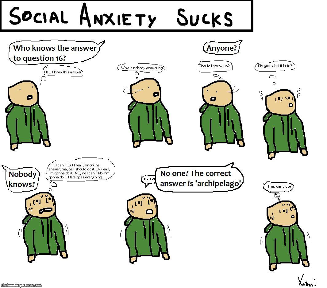 Social Anxiety Sucks