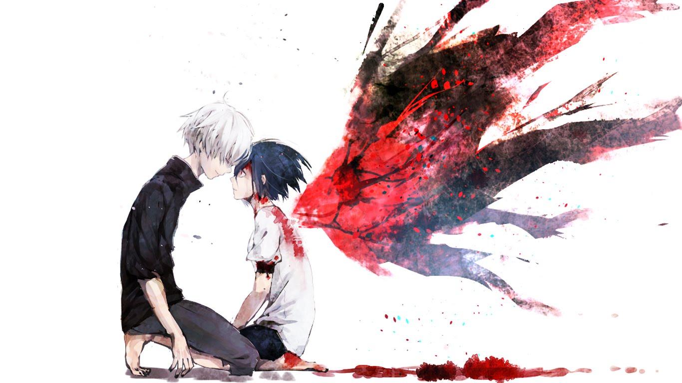 2560x1440 anime tokyo ghoul kaneki ken kirishima touka wallpaper,image. Kaneki and Touka - Cheng_Cheng Photo (39025573) - Fanpop