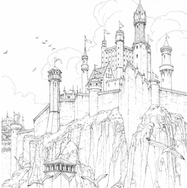 Game of Thrones- Coloring Book - Game of Thrones Photo (29