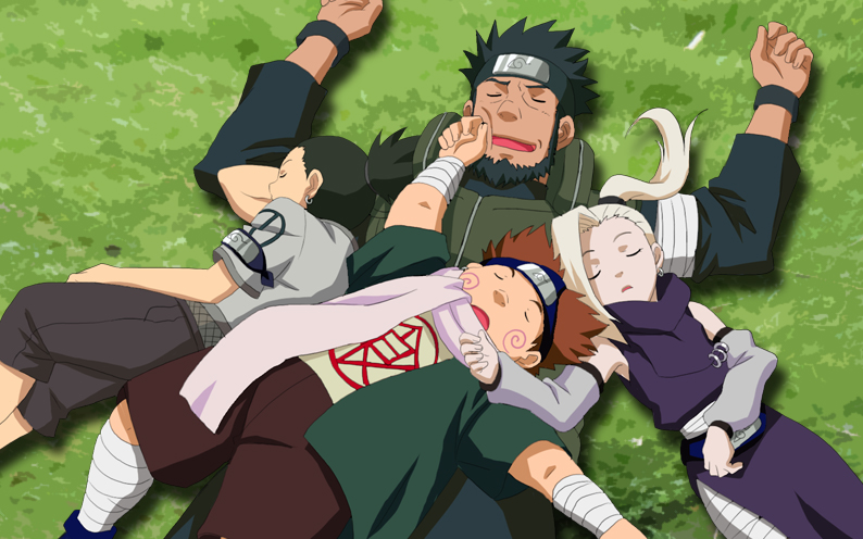 Image result for asuma and team 10