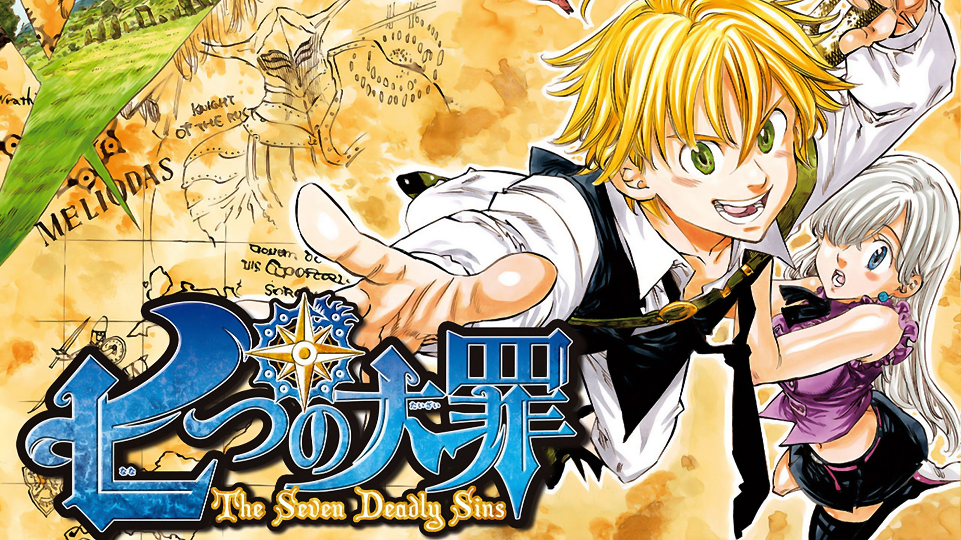 Nanatsu No Taizai Images Seven Deadly Sins Anime Meliodas Elizabeth X Hd Wallpaper And