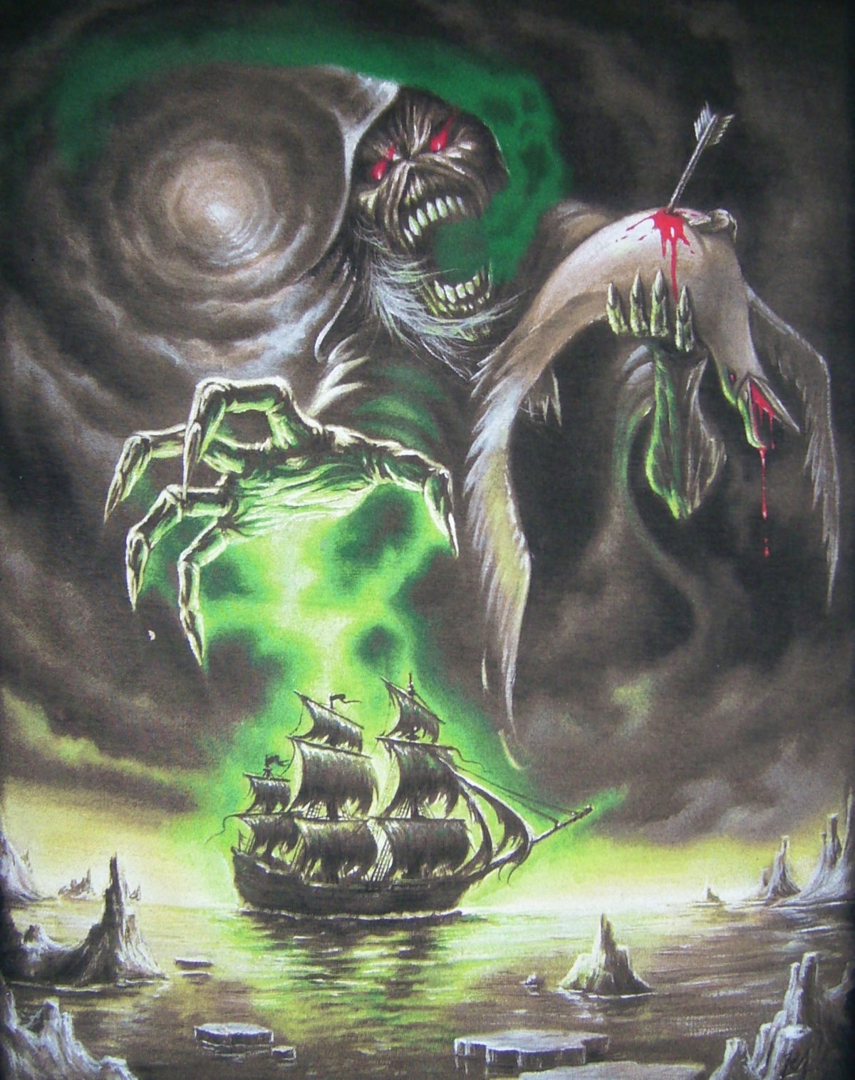 Rime Of The Ancient Mariner Iron Maiden