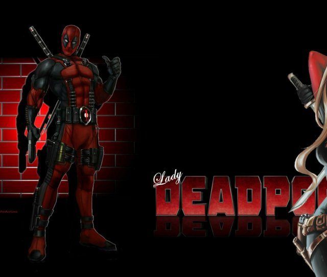 Deadpool Images Lady Deadpool Wallpaper Brick Wall 2 Hd Wallpaper And Background Photos