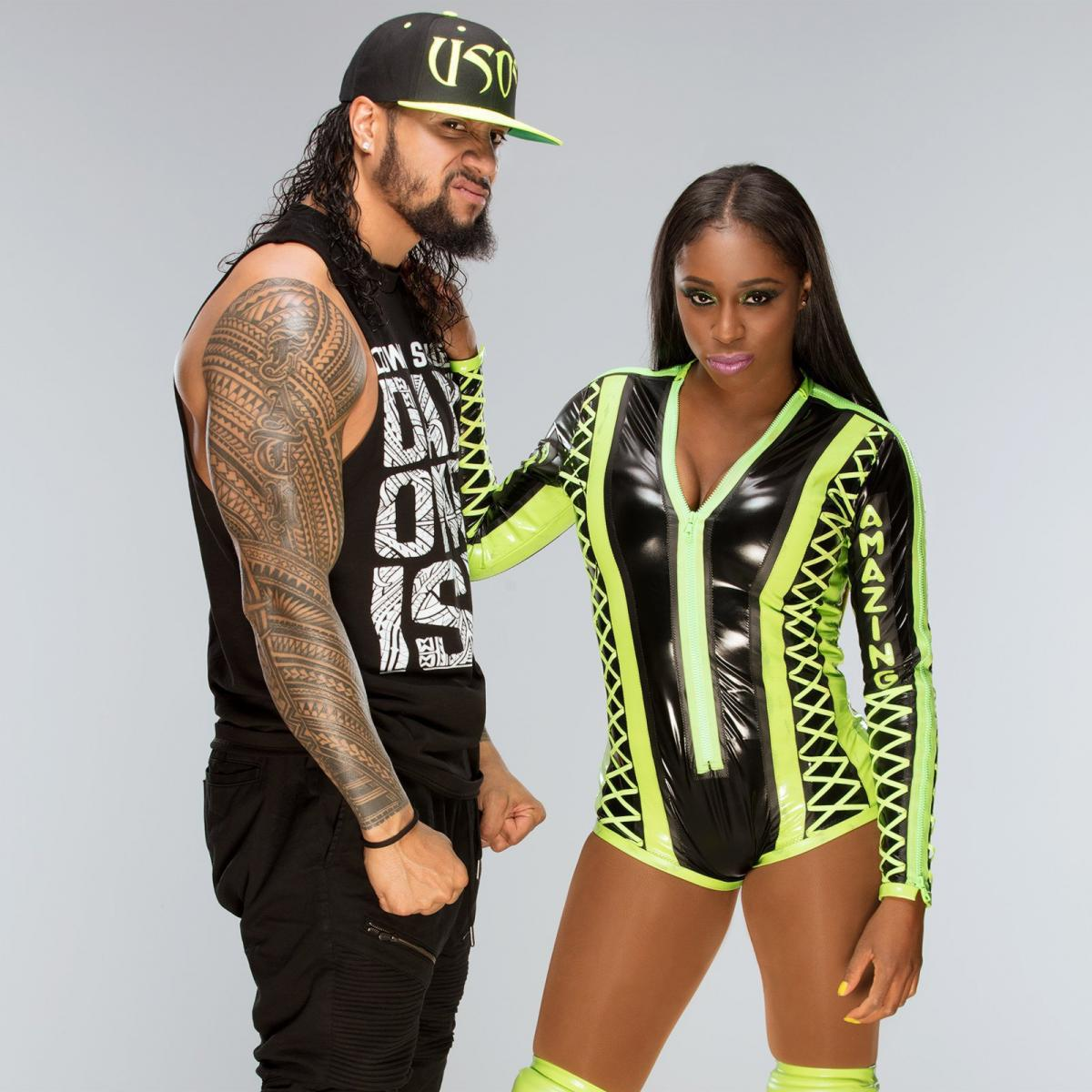 Image result for WWE Naomi and Jimmy Uso