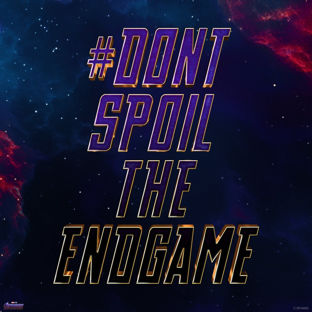 Image result for endgame don't spoil