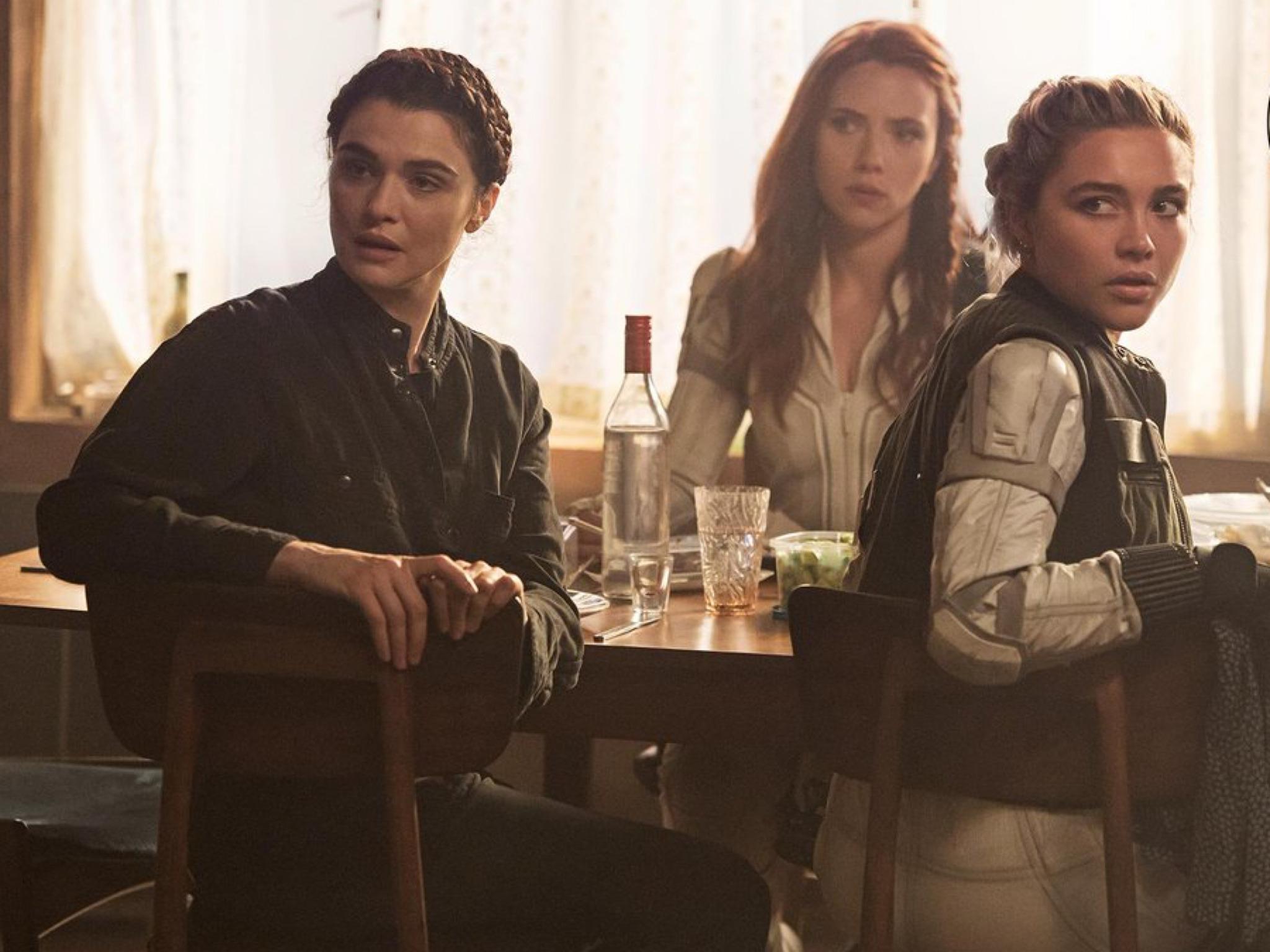 Melina, Natasha and Yelena    Black Widow    2021 - Black Widow Photo  (43656552) - Fanpop